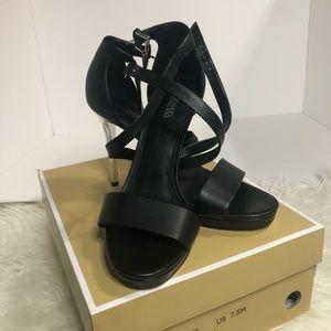 Michael Kors Stassi platform heels.